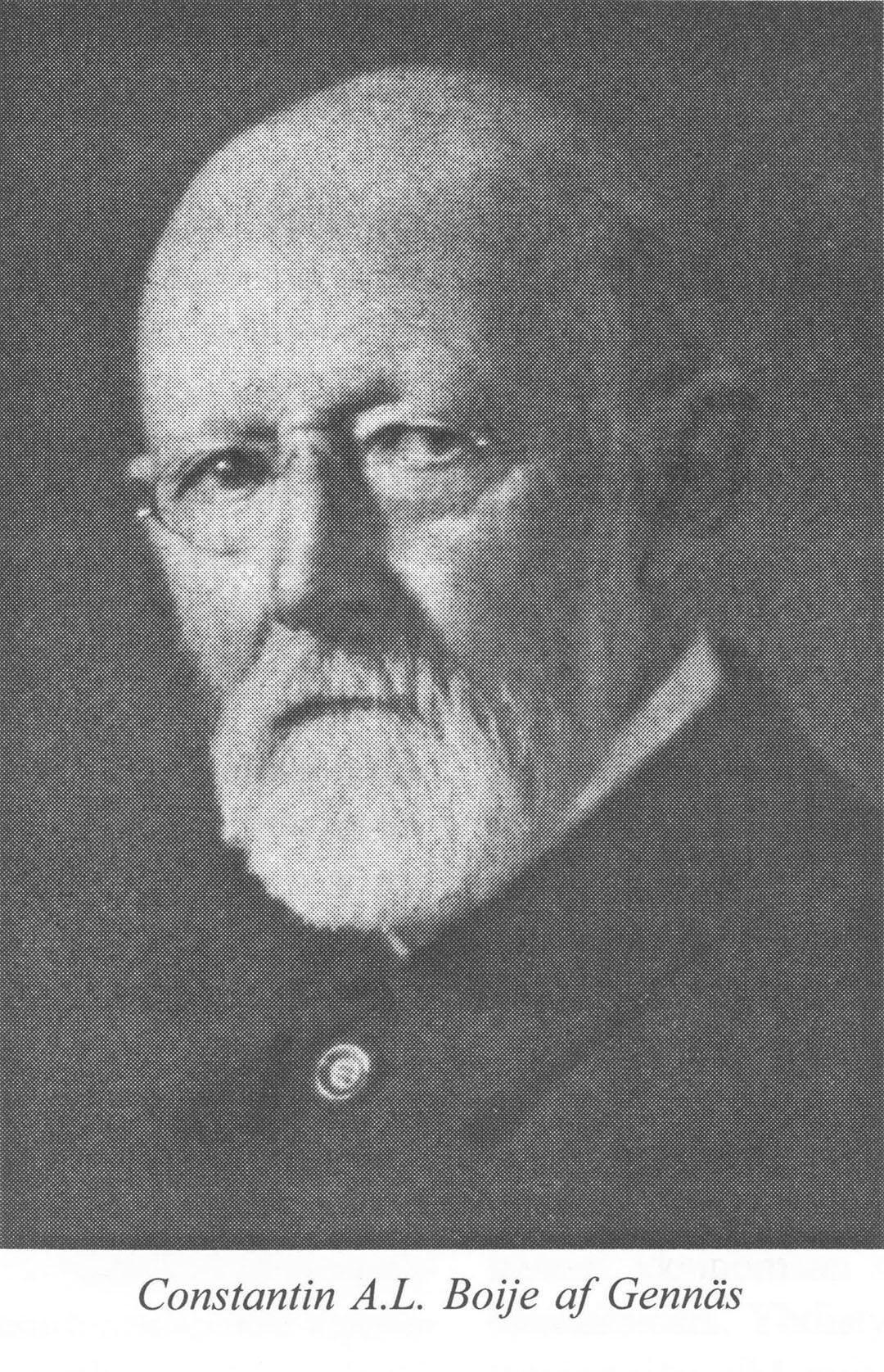 Muotokuva Constantin A.L. Boije af Gennäsistä.